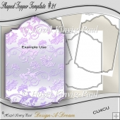 Shaped Topper Template #21