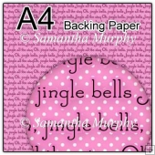 ref1_bp686 - Pink Christmas Jingle Bells