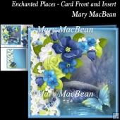 Enchanted Places - Card Front and Insert