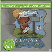 Little Bear's Going Postal Bracket Easel Card