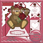 Love Bear Envelope Card