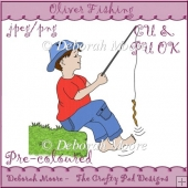 Oliver Fishing - Coloured