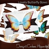 Lovely Butterfly Bows