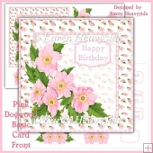 Pink Dogwood Basic Card Front