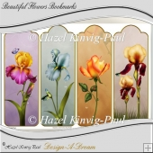 Beautiful Flowers Bookmarks