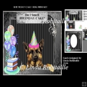 Birthday Cake Dog Mini Kit