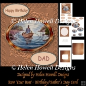 Row Your Boat - Male Birthday/ Farther's Day