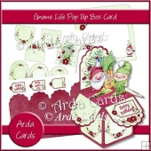 Gnome Life Pop Up Box Card