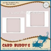 Card Box Template to Fit a 6x6 inch Card � CU/PU
