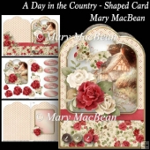 A Day in the Country - Shaped Card