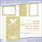 Cotton Candy Heart C5 Card Kit