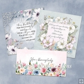 FLORAL QUICK CARDS