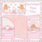 Sweetbabygirl money card