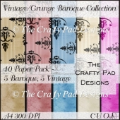 Vintage Grunge Baroque Collection