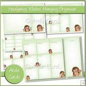 Hedgehog Wishes Hanging Organiser