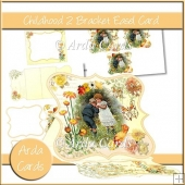 Childhood 2 Bracket Easel Card