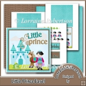 Little Prince ~ Easel Decoupage