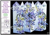 Lily & Butterfly Concertina Over The Edge Card Kit