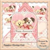 Puppylove 1 Envelope Card