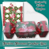 Festive Flowers Cracker Box