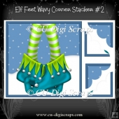Elf Feet Wavy Corner Stacker # 2