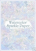 Watercolor Sparkle Backing Background Paper