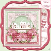 From Our House to Yours Christmas 8x8 Decoupage & Insert Kit