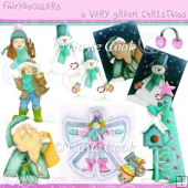 "Fairydoodler's ""A Very Green Christmas"""