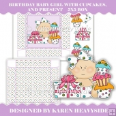 Birthday Baby Girl 5x5 Box