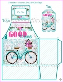Good Times Wish Gift Tote and Tag Set