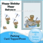 Fishing Card Topper