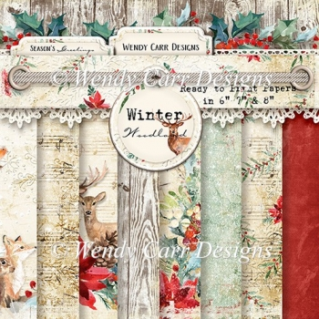 WINTER WOODLAND PAPERS