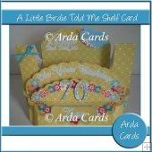 A Little Birdie Told Me Shelf Card