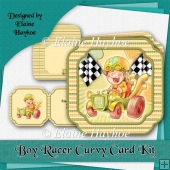 Boy Racer Curvy Card Kit