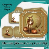 Harvest Fawn Curvy Card Kit