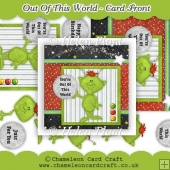 Out Of This World Card Front & Decoupage