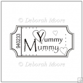 Yummy Mummy Digital Stamp/Sentiment