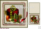 7.5 x 7.5 Card Topper & Gifttag Christmas 3