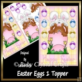 Easter Eggs 1 Topper