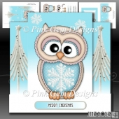 Christmas Ollie Stepper Card