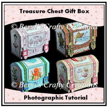 Treasure Chest Gift Box - Photographic Tutorial