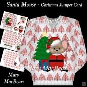 Santa Mouse - Christmas Jumper Card