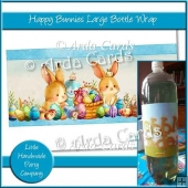 Happy Bunnies Large Bottle Wrap