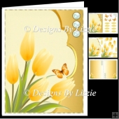 Spring Flowers Little Yellow Tulips Mini KIt