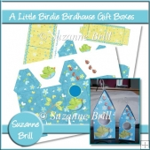 A Little Birdie Birdhouse Gift Boxes