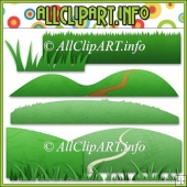 Grass Elements Commercial Use Clip Art