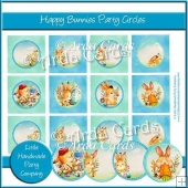 Happy Bunnies Party Circles