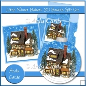 Little Winter Bakers 3D Bauble Gift Set
