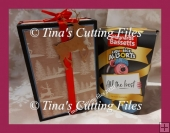 Tall Gift box for Sweets / Chocolates / Biscuits and other gifts
