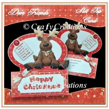 Deer Friends Slot Top Card